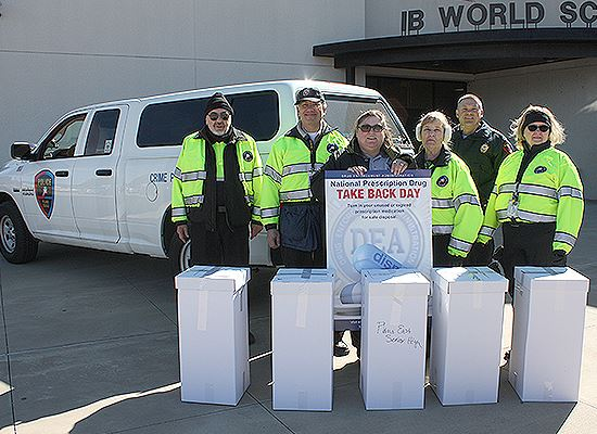 Natl Drug Take Back 2017 Police