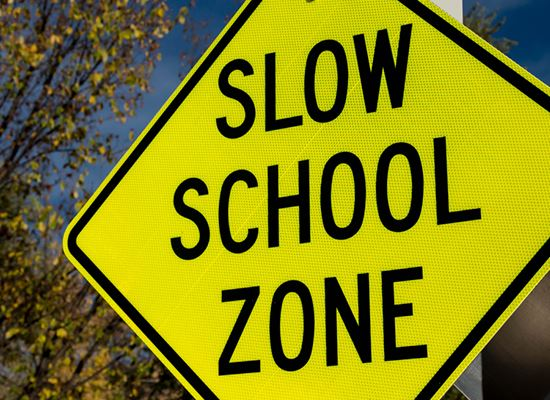 slow school zone