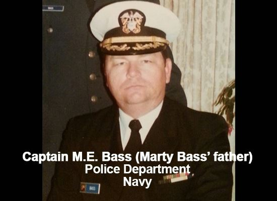 Captain M.E. Bass (Marty Bass father)
