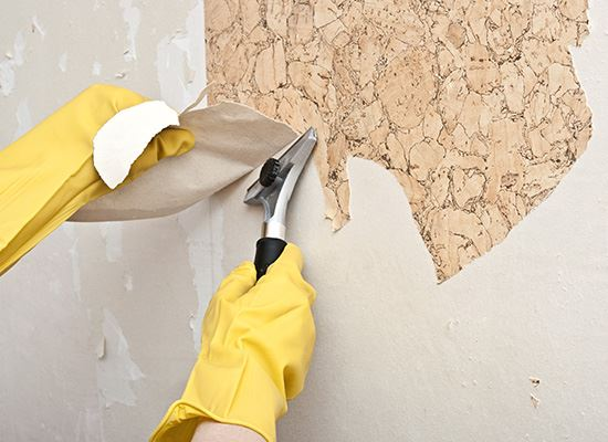 wall covering removal