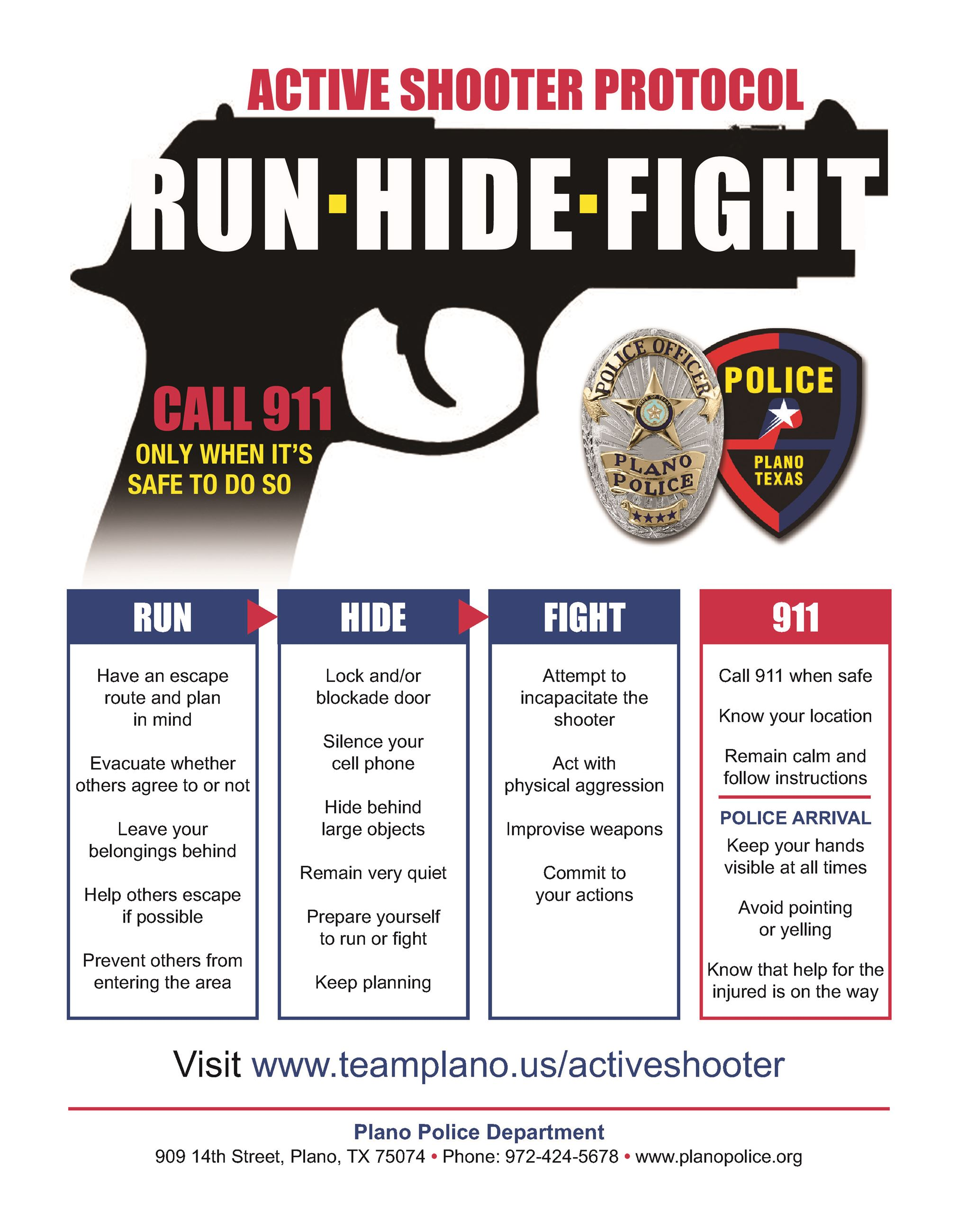 ACTIVE SHOOTER FLYER Version CITY_ACTIVE SHOOTER FLYER
