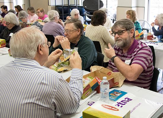 Retiree Luncheon Spring 2018