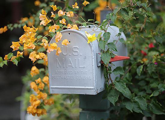 Mailbox home address
