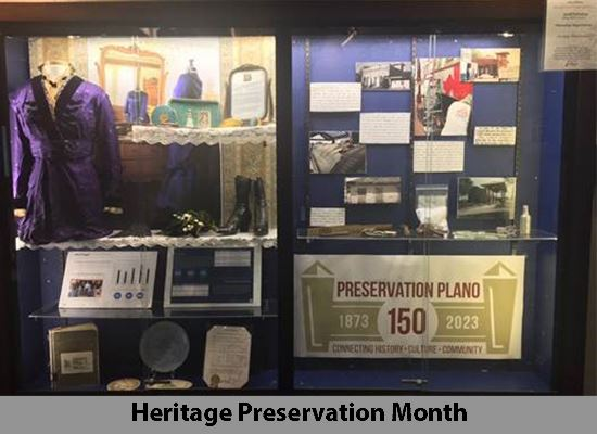 Display Case Heritage Preservation Program