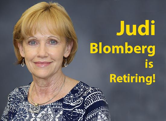 Retiree Judi Blomberg