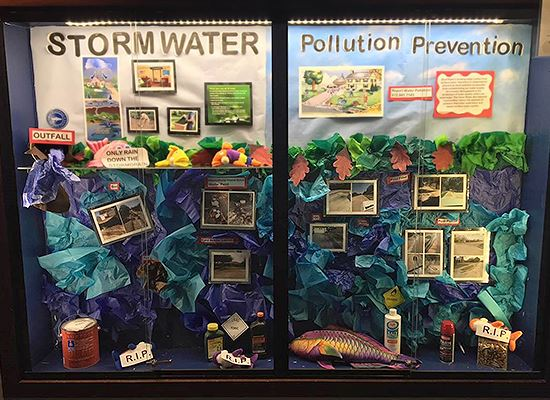 Display Case Storm Water
