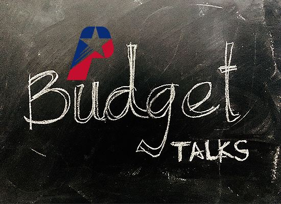 Meet with City Manager Budget talks