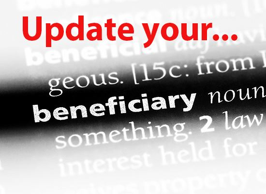 Beneficiary update