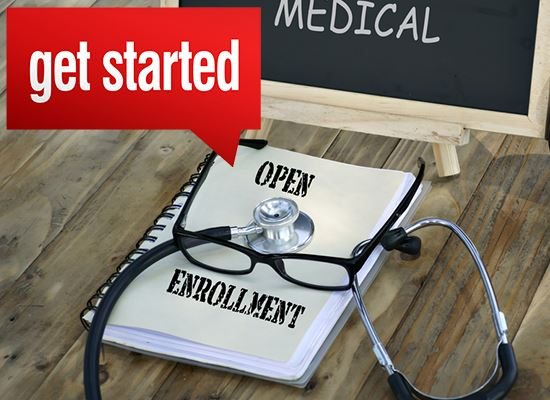 Open enrollment get started