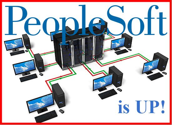 PeopleSoft is UP
