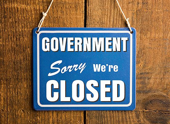 Holiday Government Closure