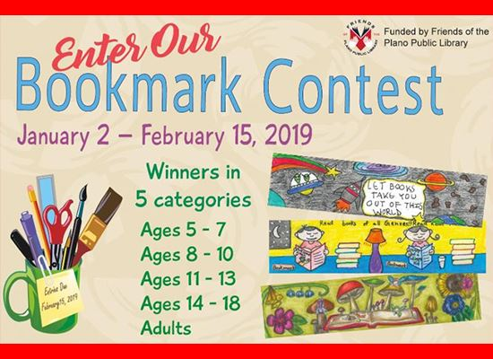 Library Bookmark Contest image