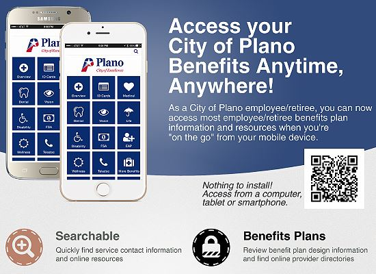 City of Plano Mobile app WEB