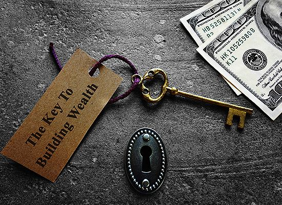 Building Wealth key