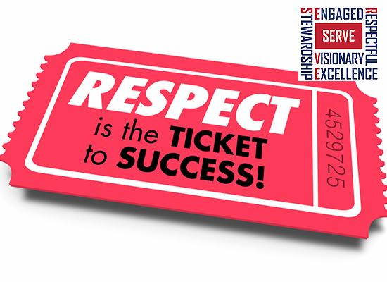 Respect ticket to success WEB