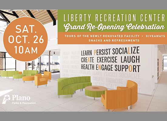 Liberty Reopening flyer