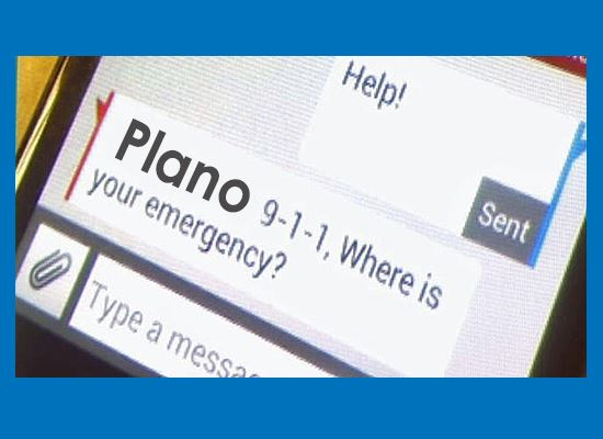 Text-to-911 cell phone