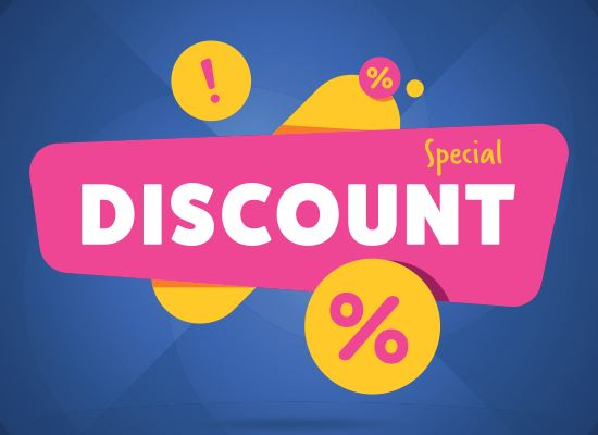 Special discount percents