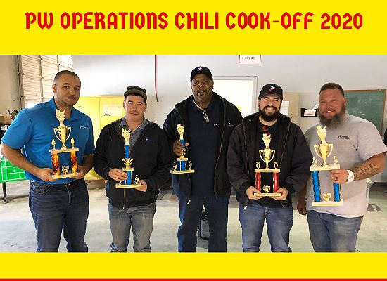 Public Works Chili Cook off
