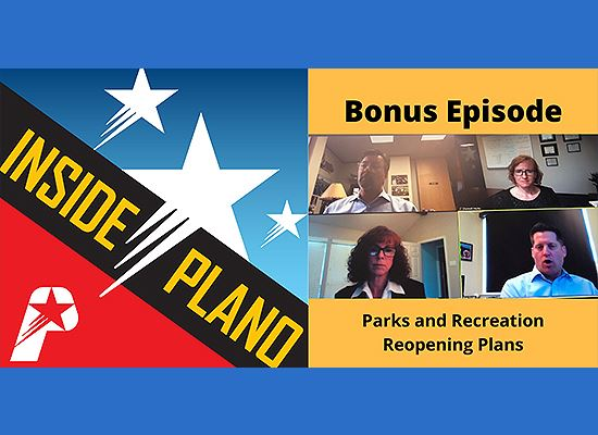 Inside Plano podcast with PARD staff