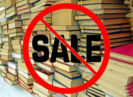 No Book Sale in 2020