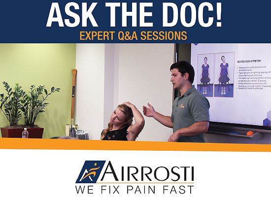 Airrosti Ask the Doc QandA