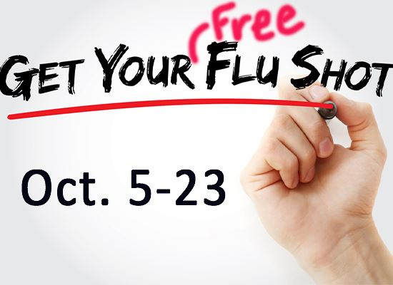Get your flu shot sign and date