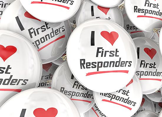 I love First Responders buttons
