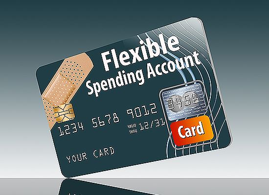 Flexible spending account debit Card