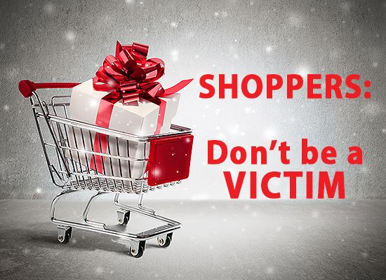 Christmas shopping Crime Alert