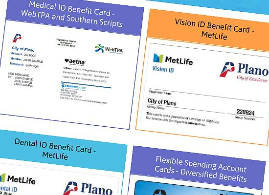 Coming in December Benefits cards