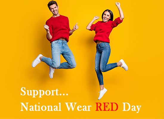 National Wear Red Day 2021