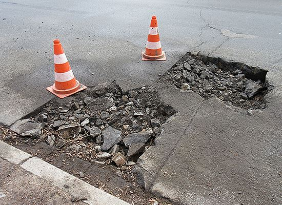 Fix It Plano potholes