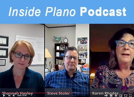 Inside Plano podcast 40