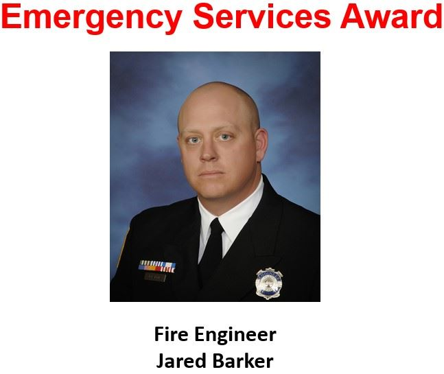 PFR Emergency Services Award