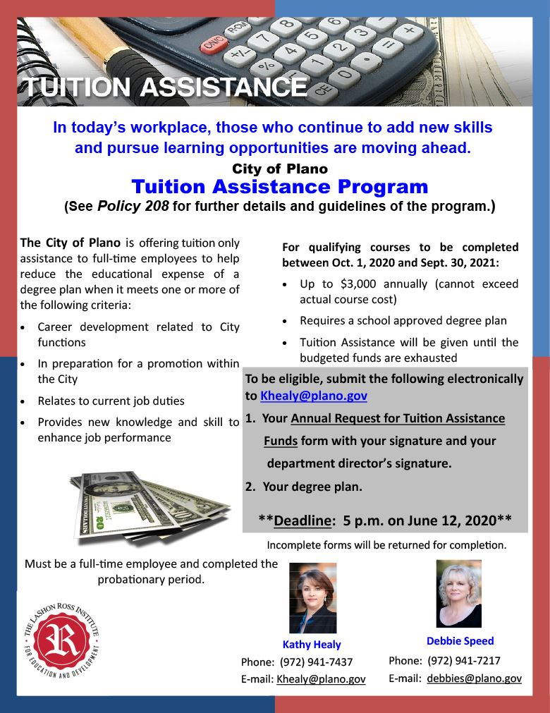 Tuition Assistance 2020-21