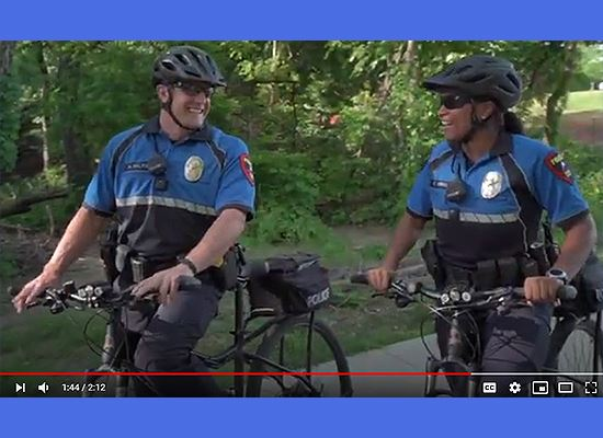 PD bike officers