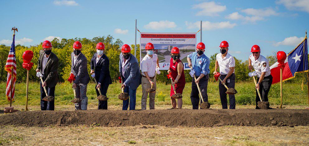 Fire Training Center ground breaking