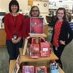 Wear Red_ Davis Library 1