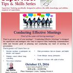 Conducting Effective Meetings